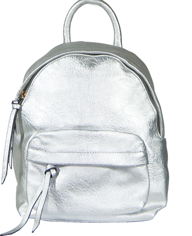 Backpack No 133 - Ασημί (SIMON κωδ.: 601)