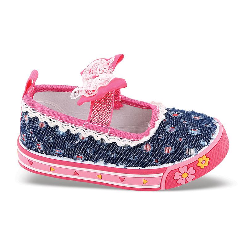Παπούτσια για μικρά κορίτσια Νο 7118 - Μπλε