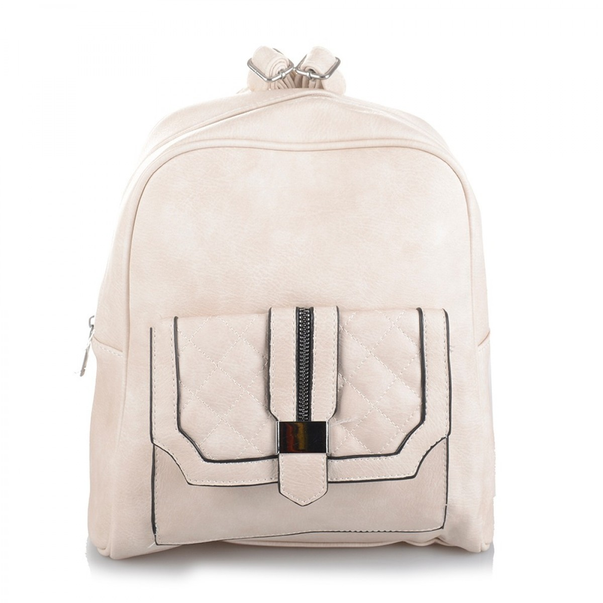 Backpack No 1053B - Μπεζ