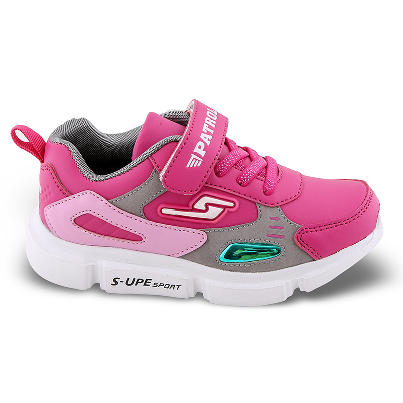 Sneakers για κορίτσια Νο 19060 - Φούξια