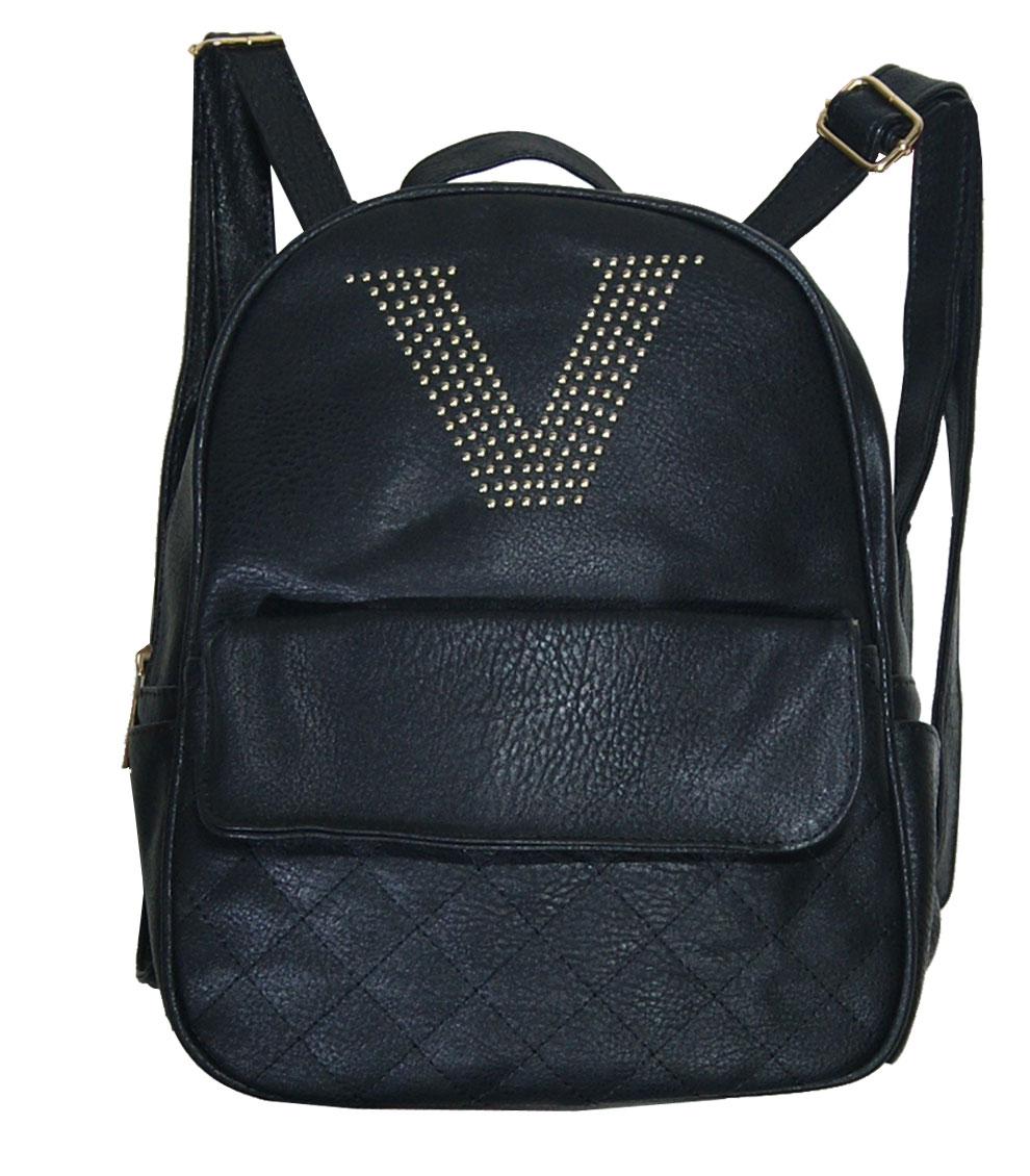 Backpack No 16 - Μαύρο (Silvio κωδ.: 427)