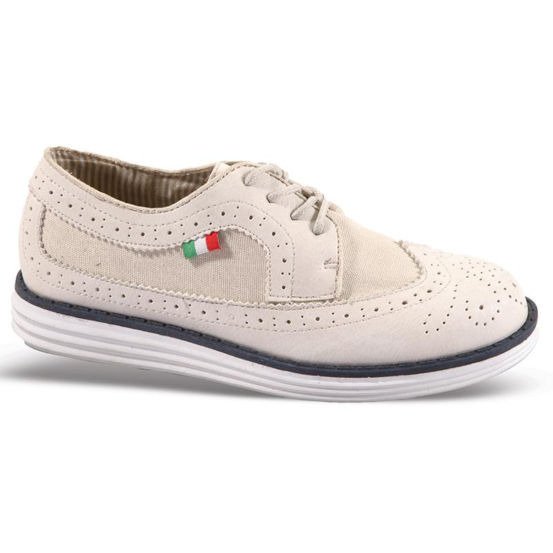 Παπούτσια παιδικά τύπου OXFORD No 59004 - Μπεζ