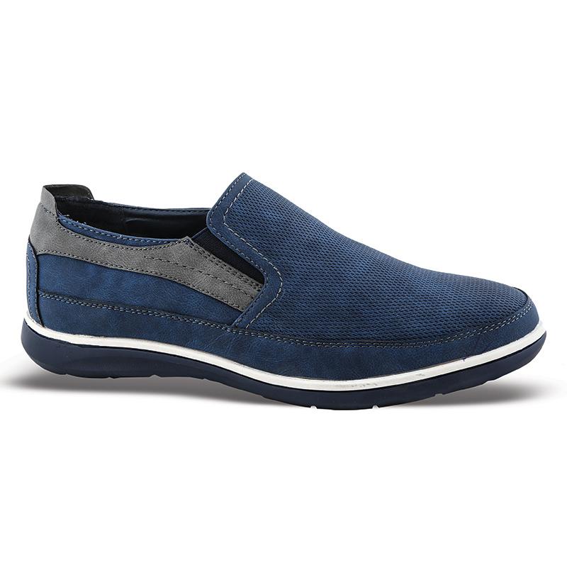 Casual ανδρικά παπούτσια Νο 61108 - Μπλε