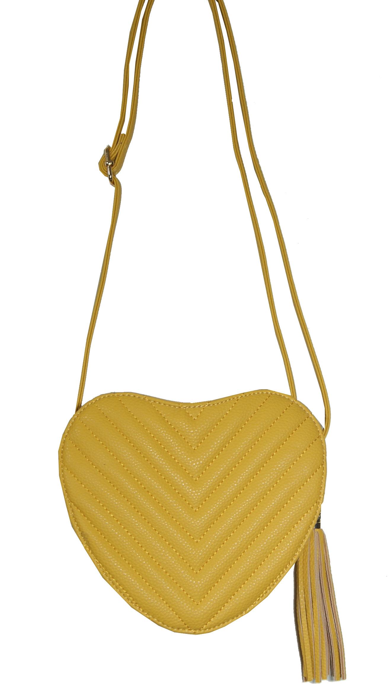 b33dfc8a37 Τσαντάκι γυναικείο Νο 8160 - Κίτρινο (Dudlin 8160-72)