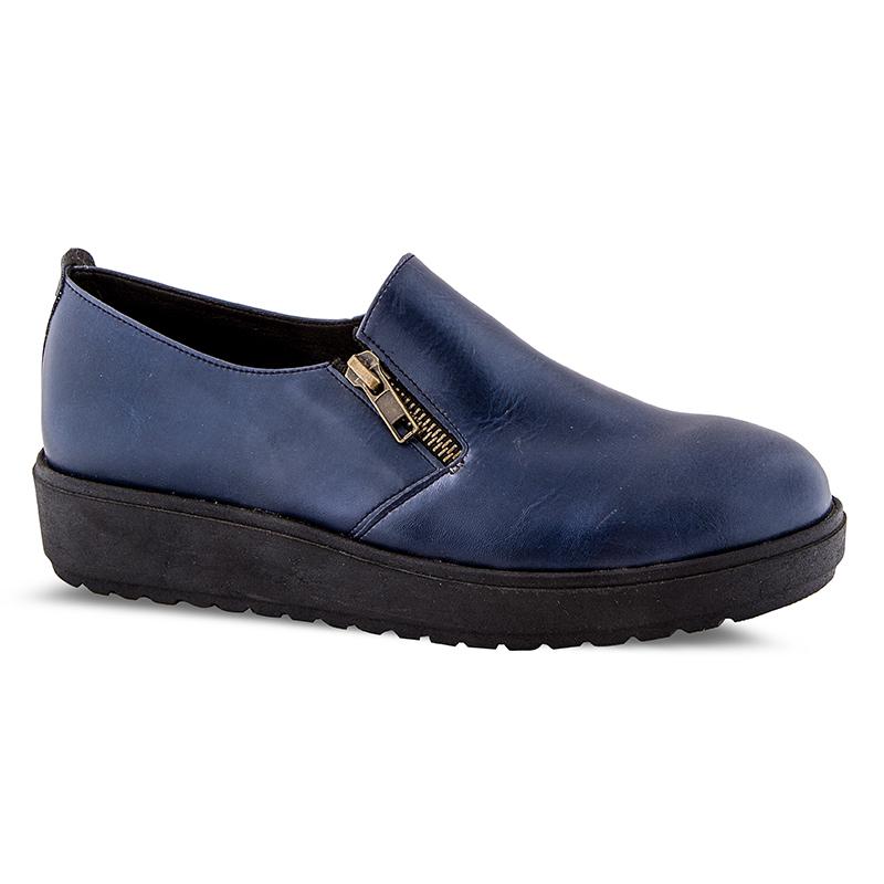 Casual γυναικεία παπούτσια Νο 40131 - Μπλε