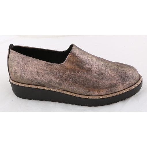 Παπούτσια φλατ γυναικεία Νο 4631 - Μπρονζέ