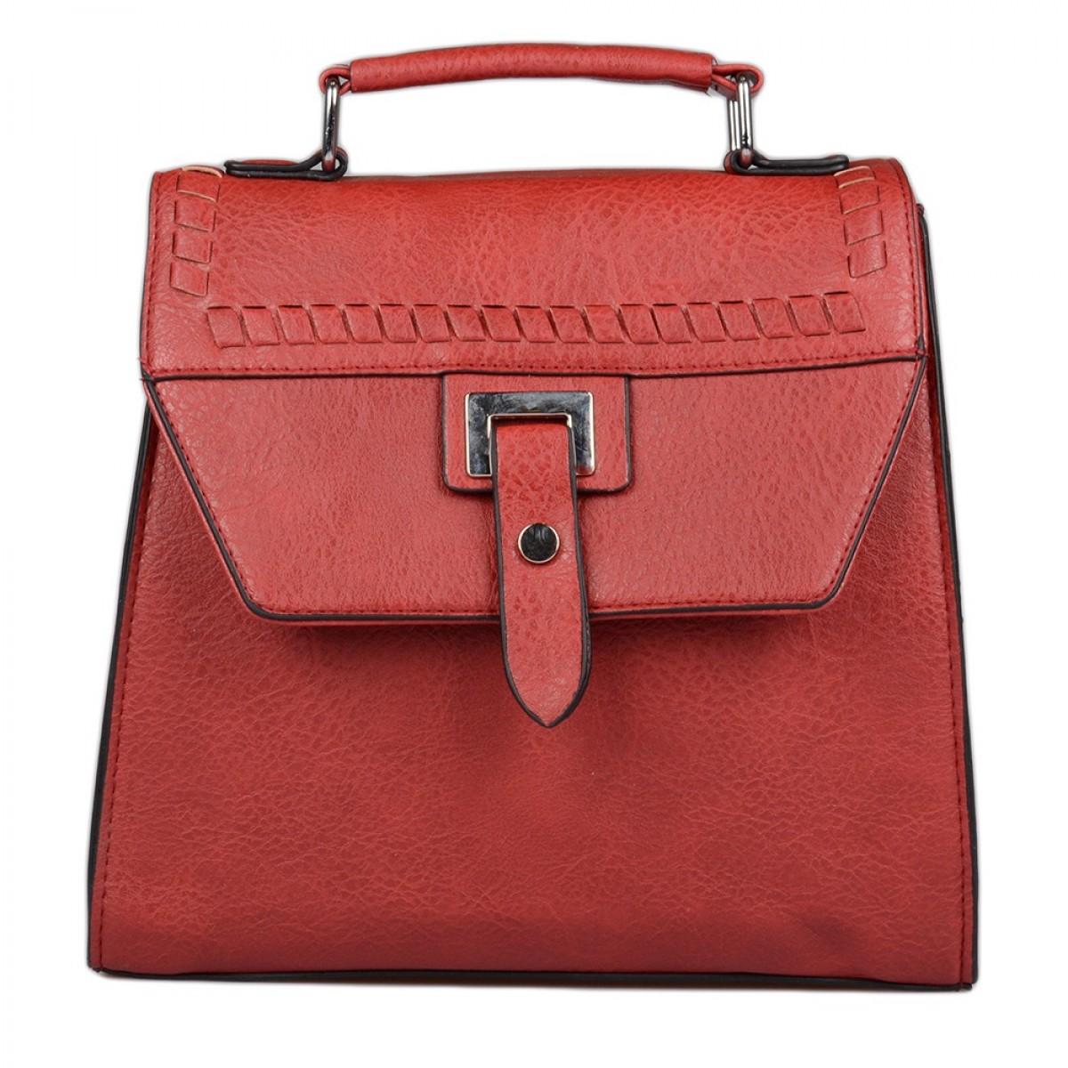 Backpack No L034N - Kόκκινο