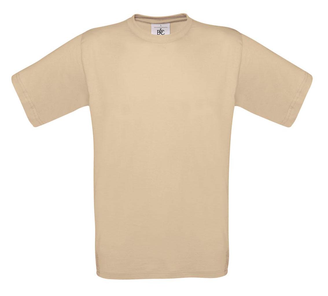 T-shirt ανδρικό B and C No 2 - Μπεζ (TU002)