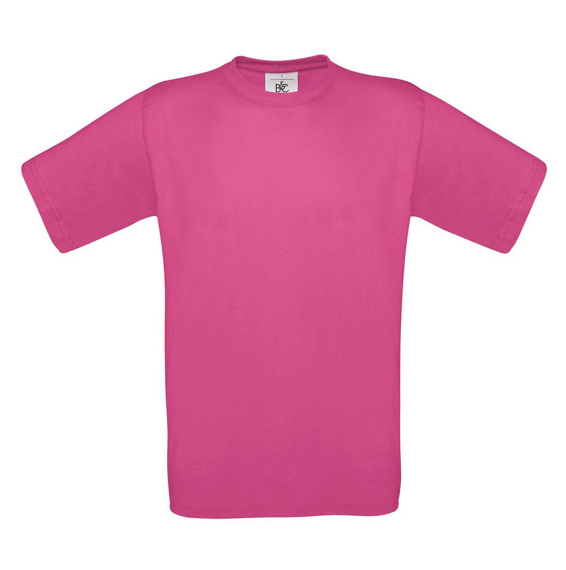 T-shirt ανδρικό B and C No 2 - Φούξια (TU002)