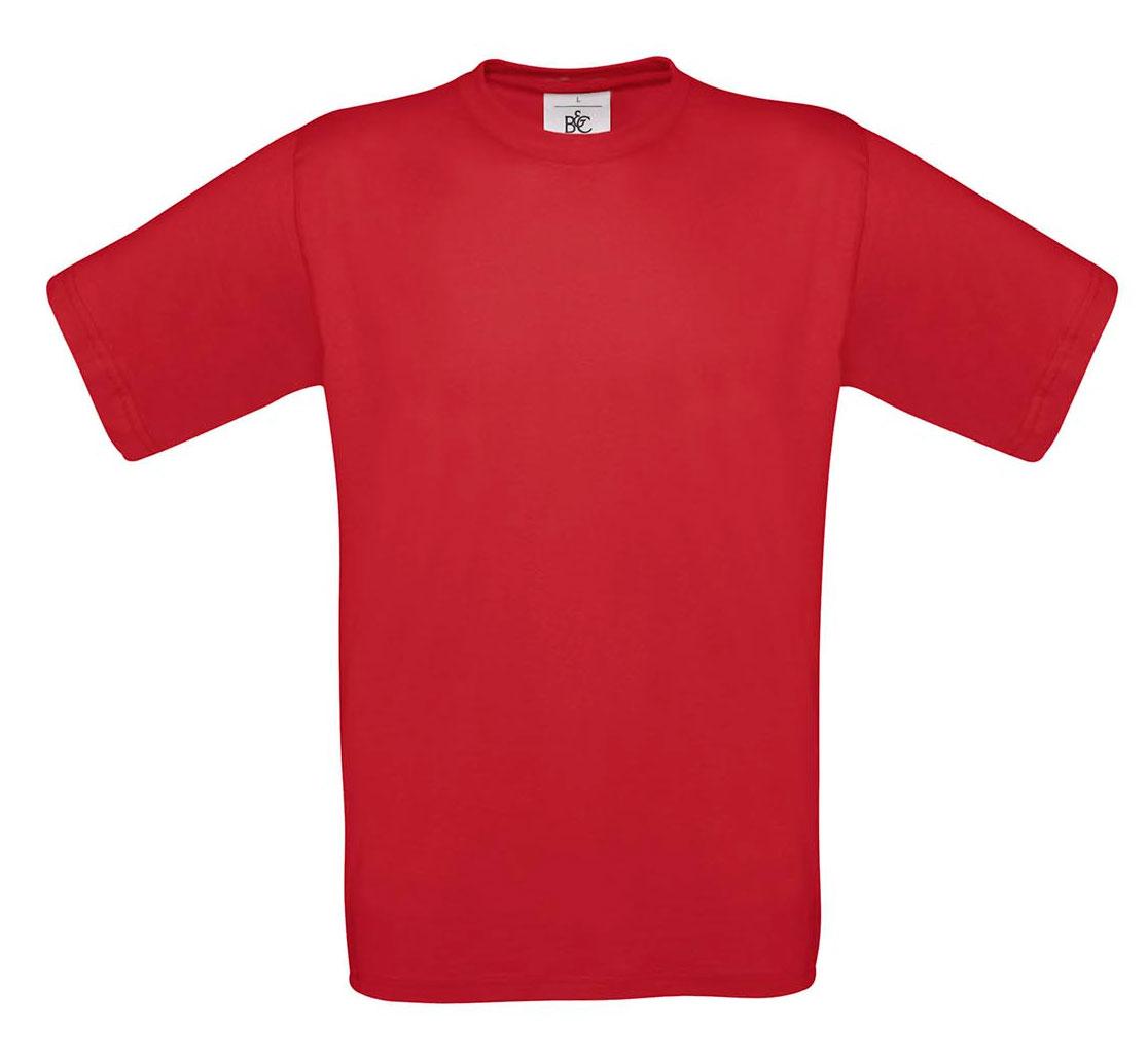 T-shirt ανδρικό B and C No 2 - Κόκκινο σκούρο (TU002)