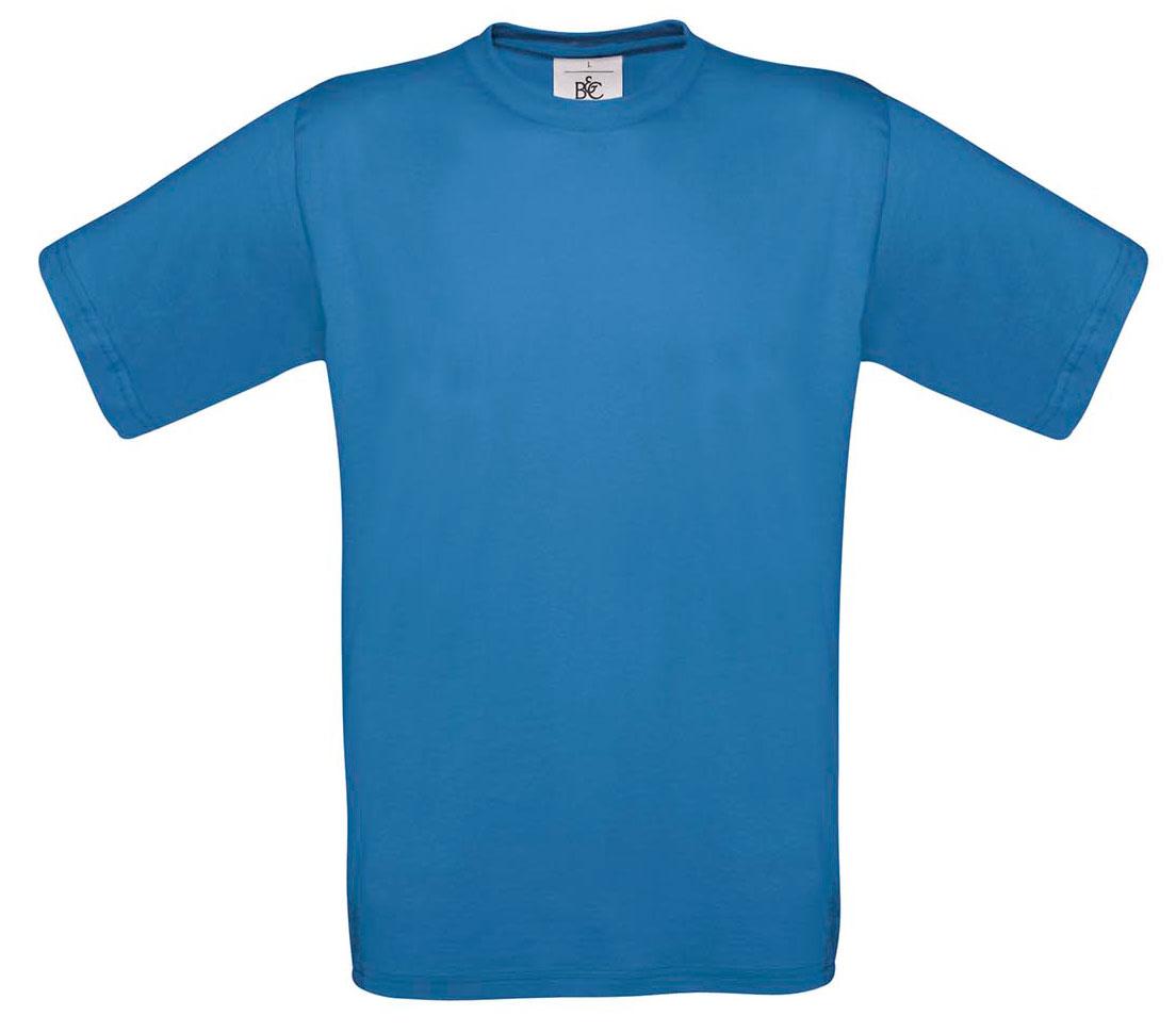 T-shirt ανδρικό B and C No 2 - Μπλε royal  (TU002)