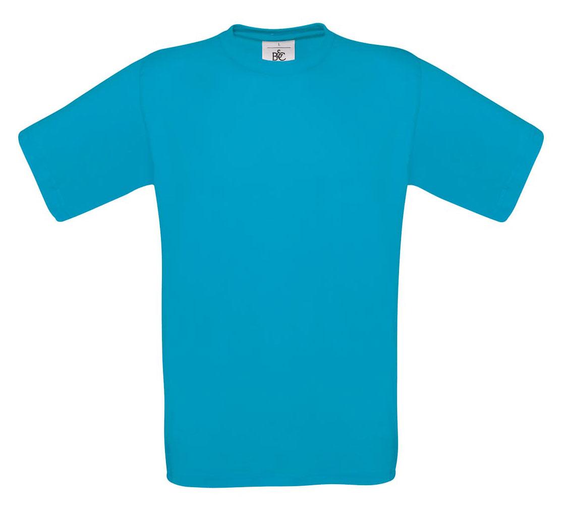 T-shirt ανδρικό B and C No 2 - Τιρκουάζ (TU002)