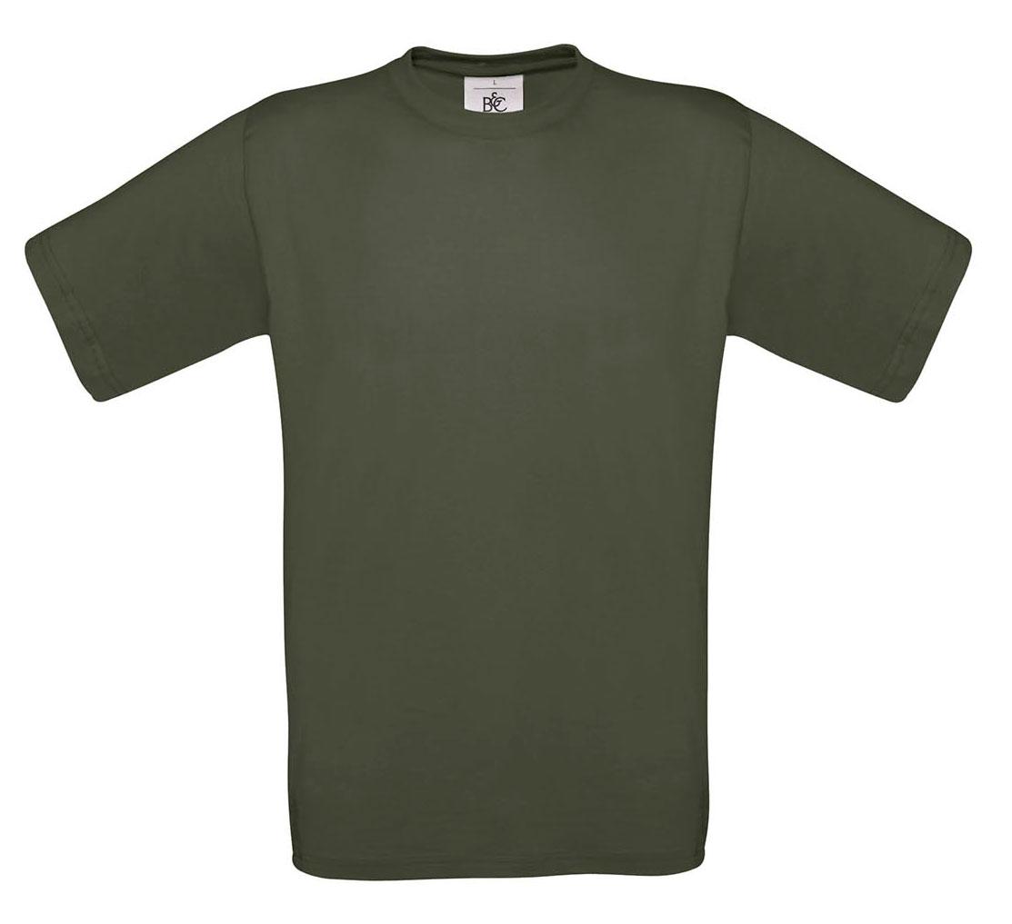 T-shirt ανδρικό B and C No 2 - Χακί (TU002)