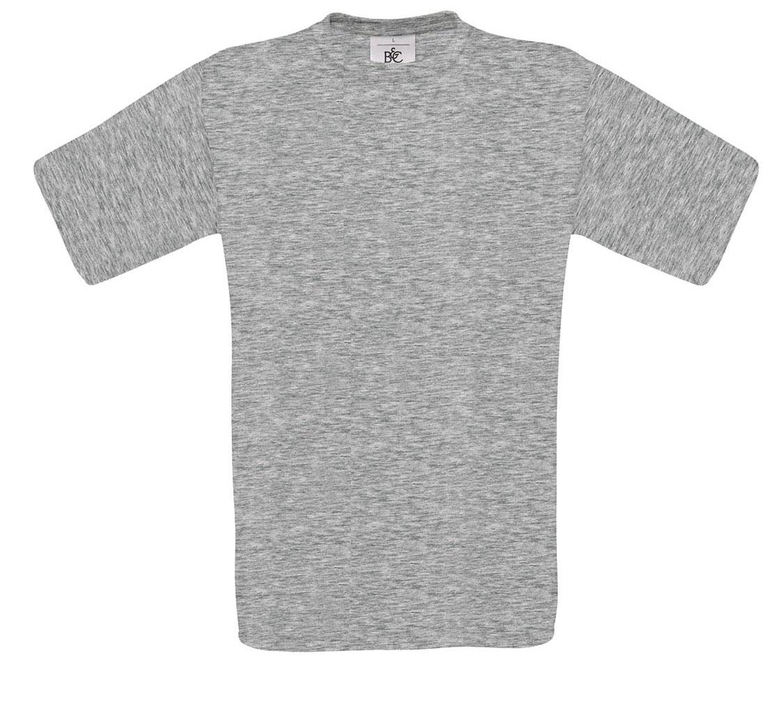 T-shirt ανδρικό B and C No 2 - Γκρι (TU002)