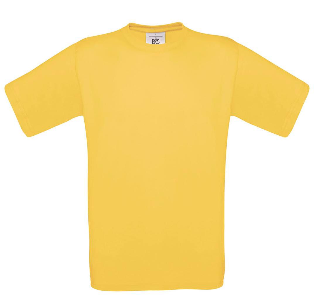 T-shirt ανδρικό B and C No 2 - Κίτρινο (TU002)