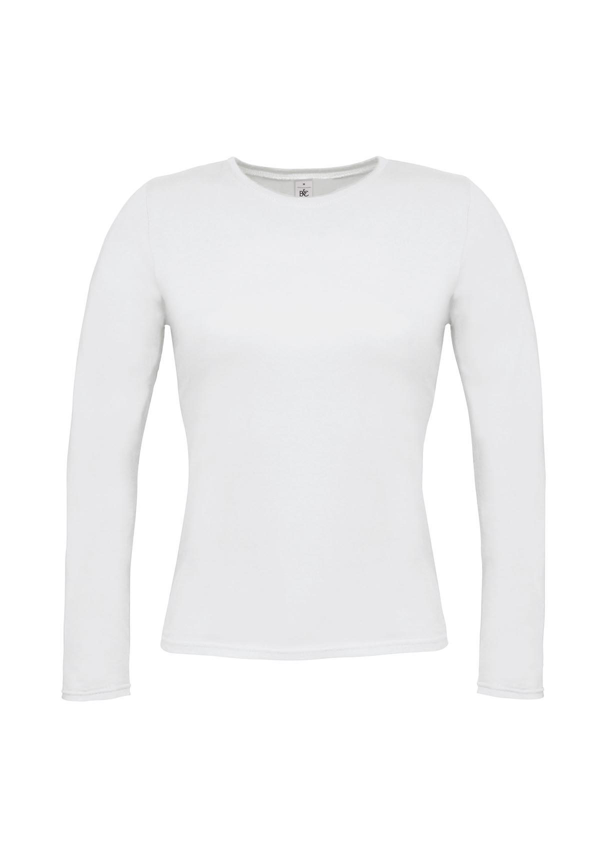 Μπλούζα γυναικεία μακρυμάνικη - Λευκή Νο 13 (B and C TW013)