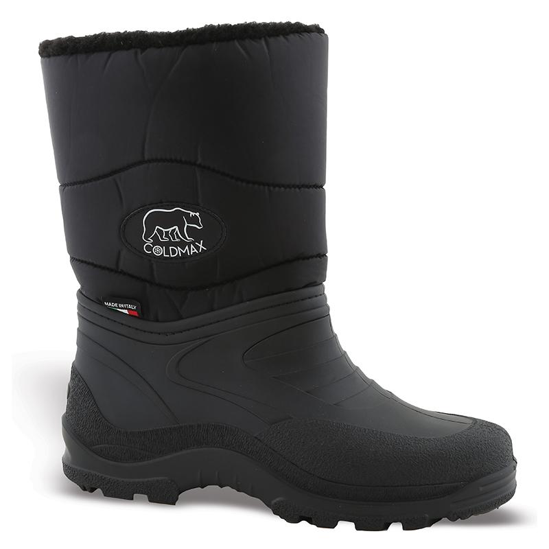 Μπότες αδιάβροχες Ιταλίας Νο 10309 - Μαύρες