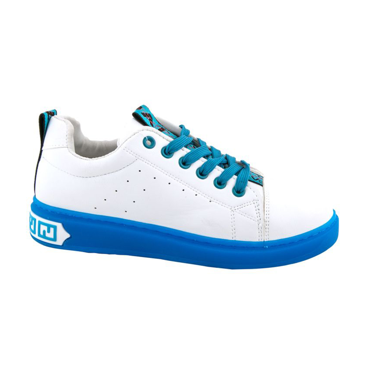 Sneakers γυναικεία Νο 9066 - Λευκό / μπλε