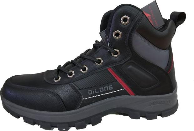 Μποτάκια ορειβασίας (OUTDOOR) Νο 123 - Μαύρα (DILONG)