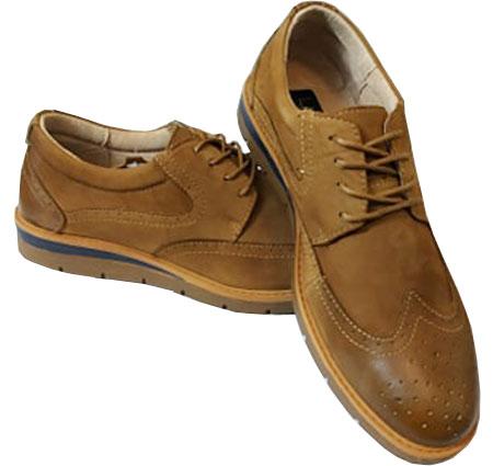 Casual ανδρικά παπούτσια Νο 173 - Κάμελ