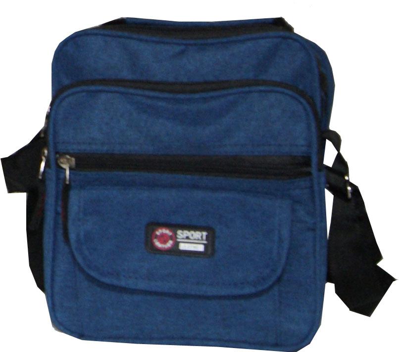 Τσάντα χειρός και ώμου ανδρική Νο 5525 - Μπλε