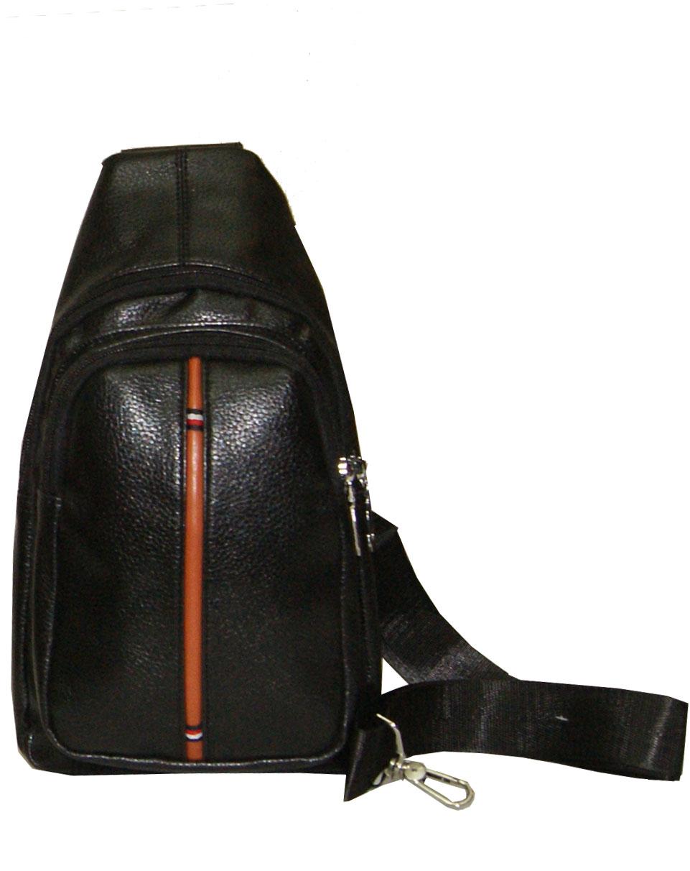 eee5b0b170 Τσάντα ανδρική χιαστί Νο 8021 - Μαύρη