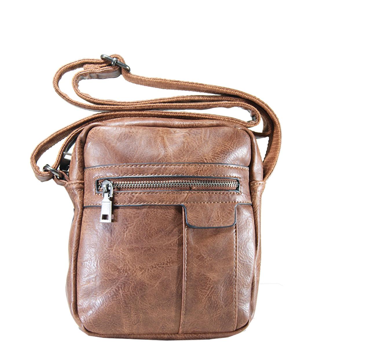 Τσάντα ώμου ανδρική Νο 981 - Ταμπά (Phil HL-981)