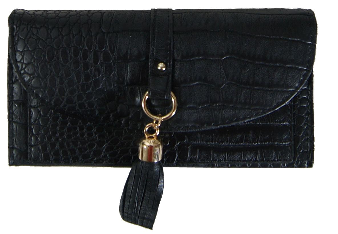Πορτοφόλι γυναικείο Νο 11 - Μαύρο