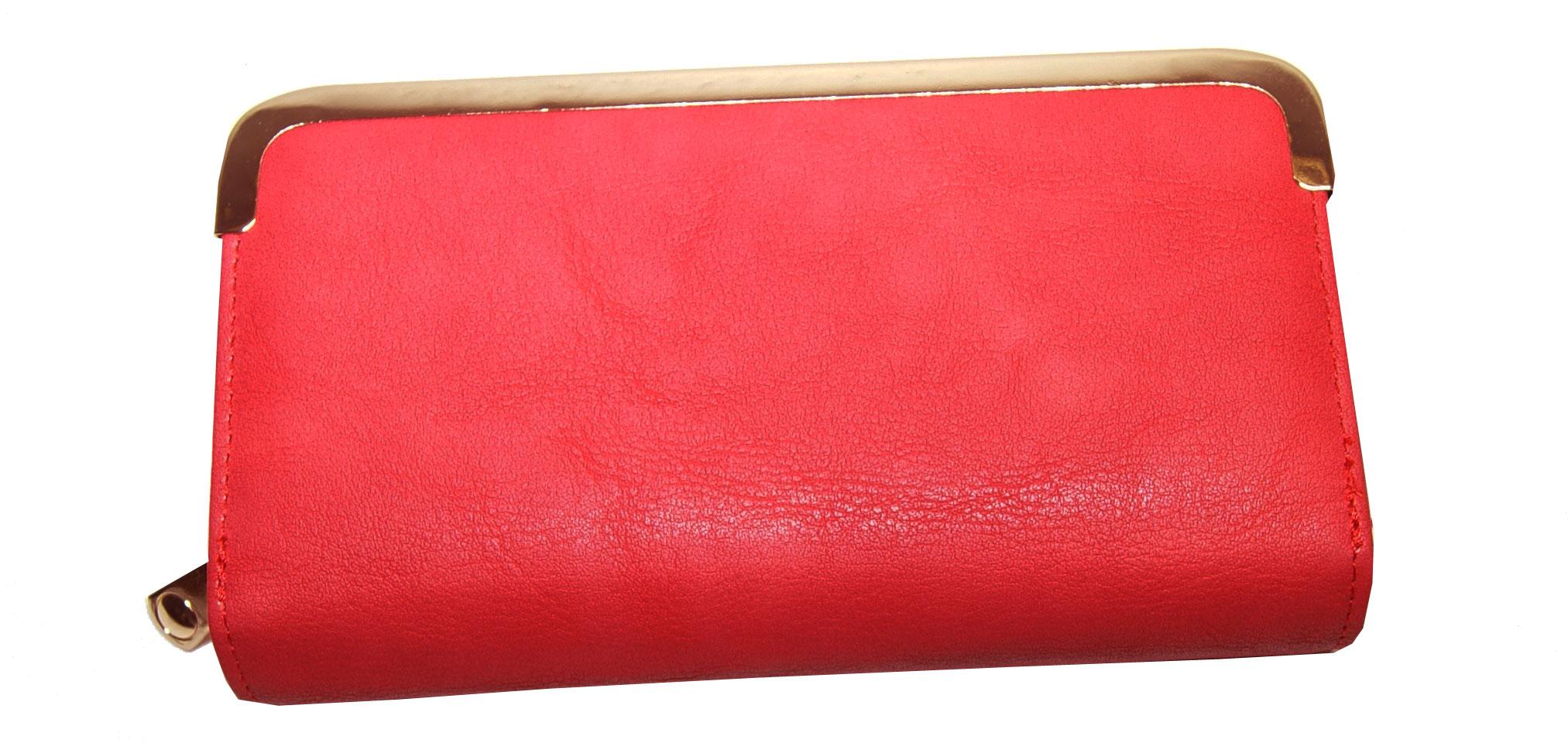 Πορτοφόλι γυναικείο Νο 136 - Κόκκινο 7f08873952e