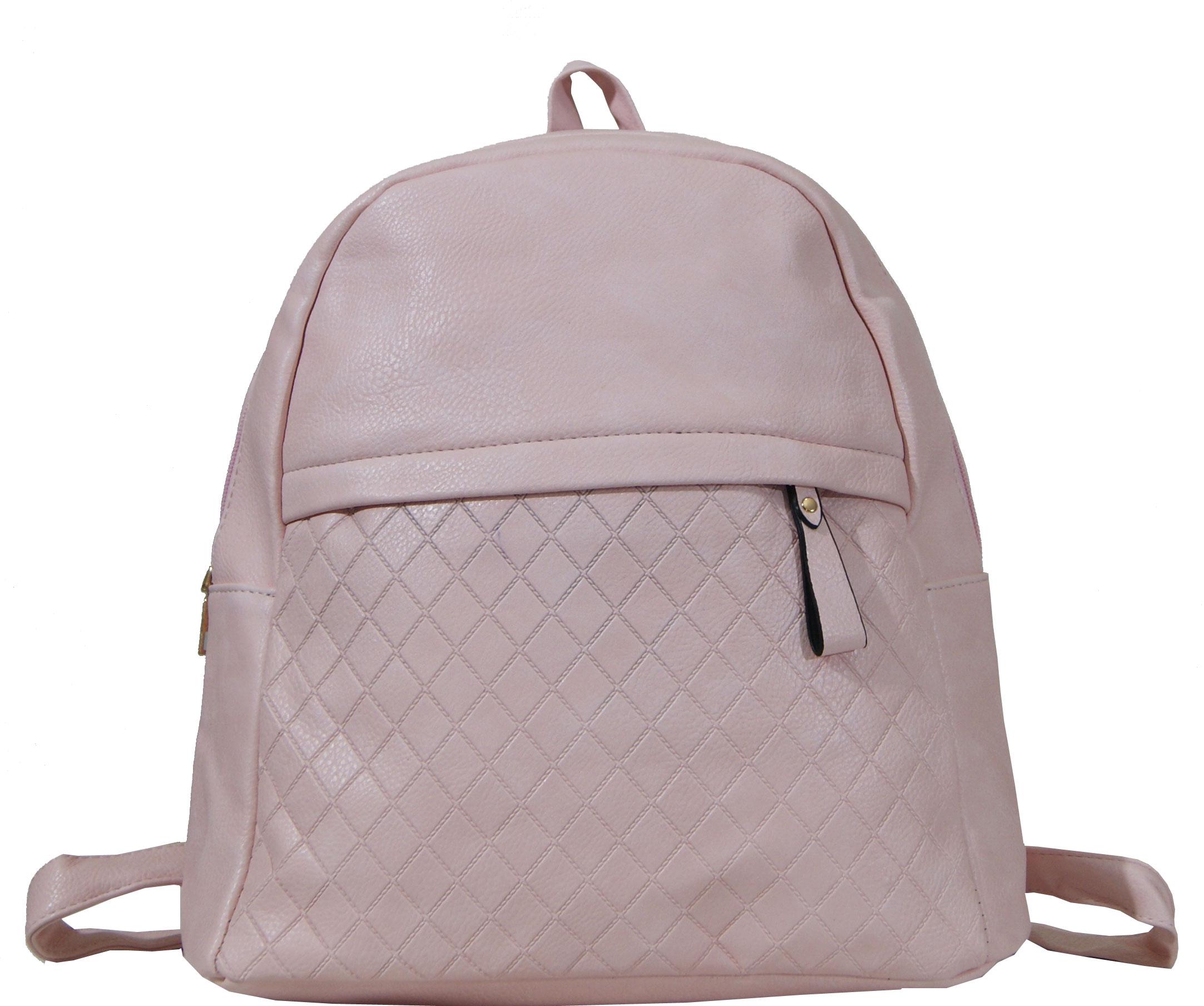 Backpack No 8616 - Ροζ (Silvio 8618)