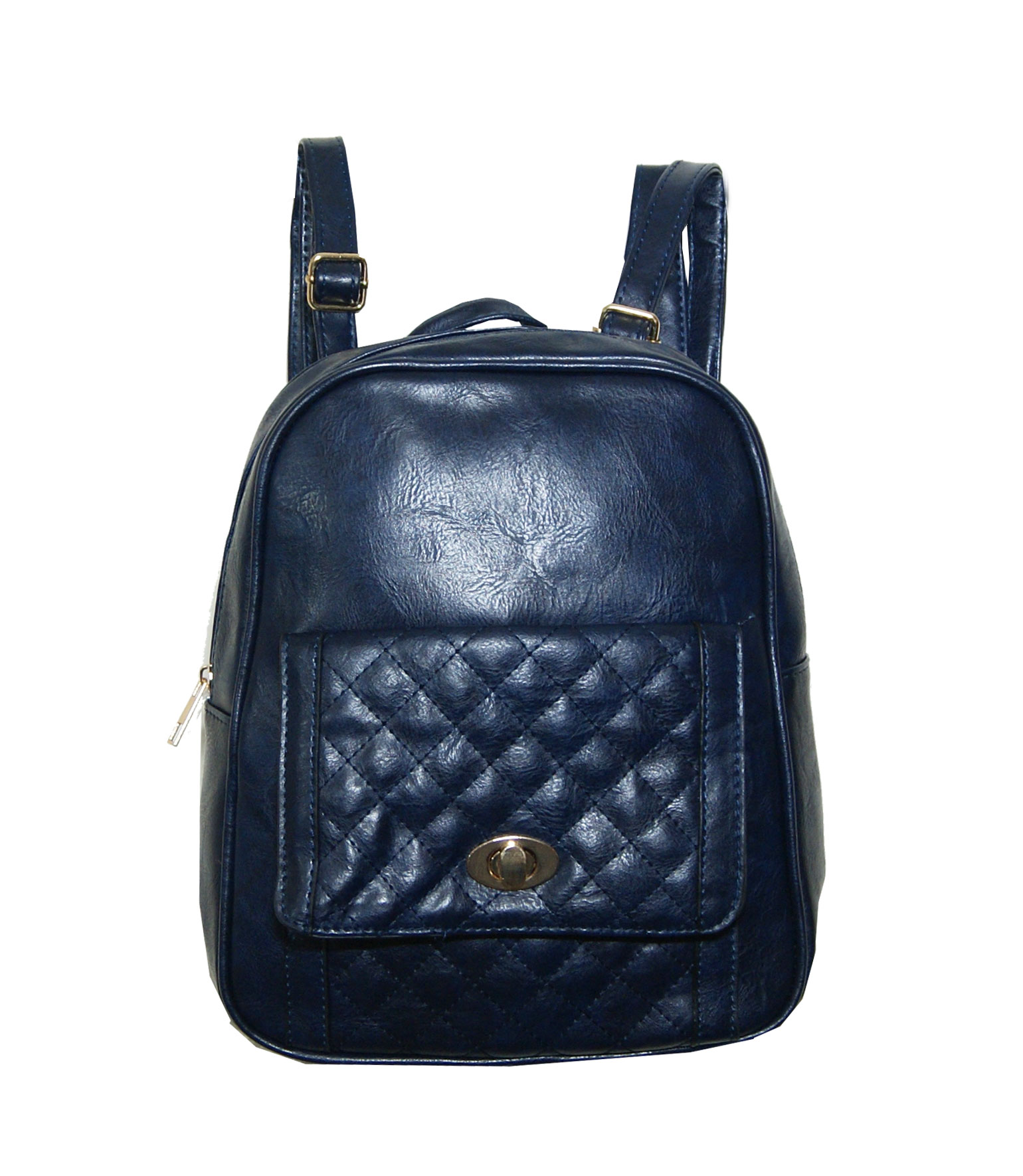 Backpack No 333 - Navy Μπλε (Silvio 333)