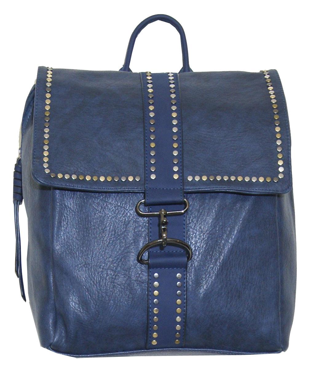 Backpack No 3835 - Μπλε (Dudlin)