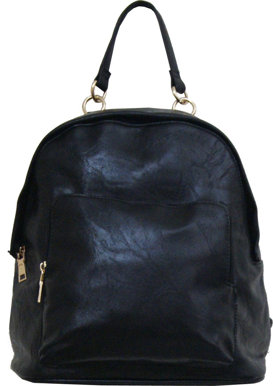 Backpack No 523 - Μαύρο