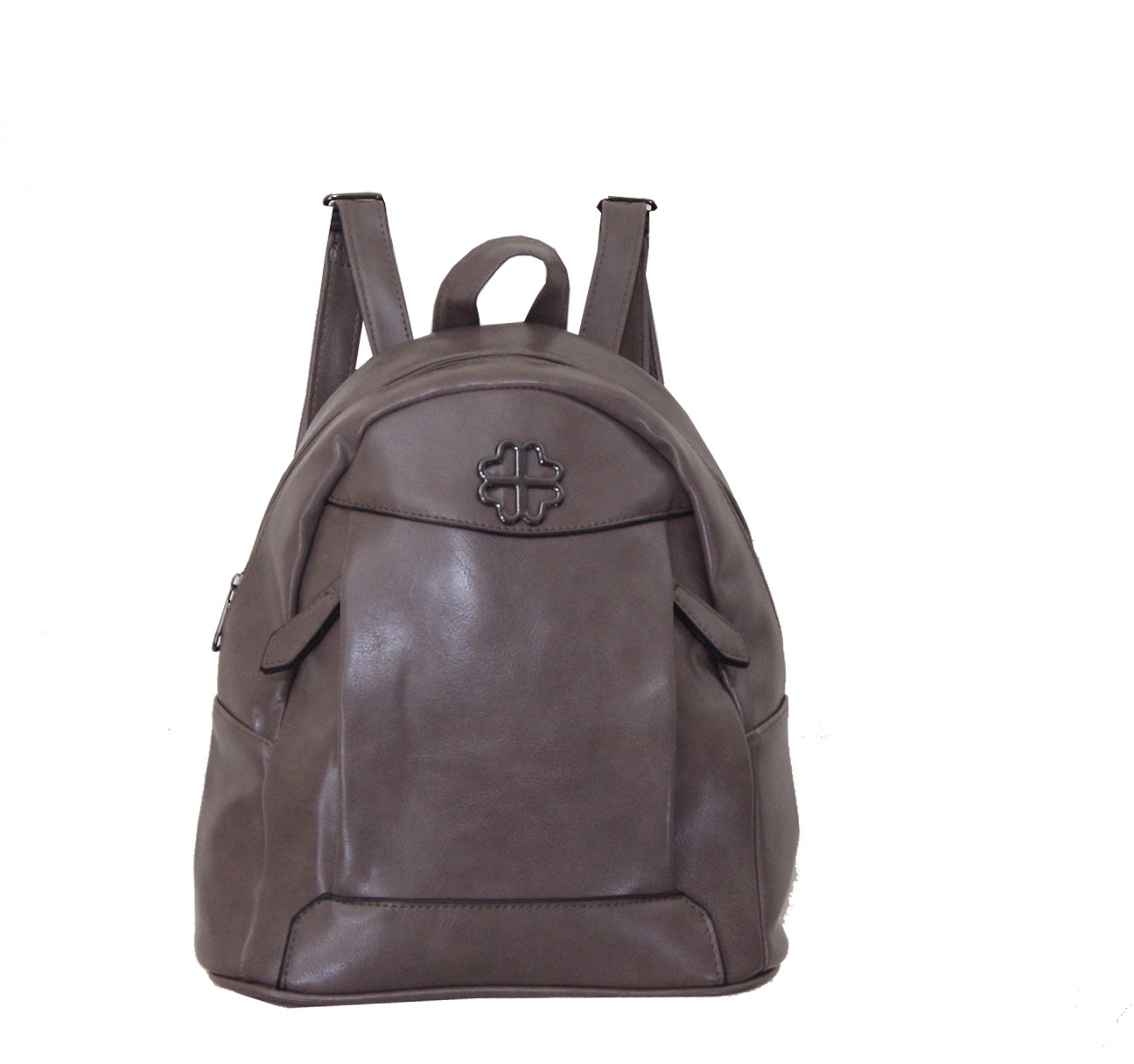 Backpack No 664 - Γκριζοκαφέ (Silvio 664)