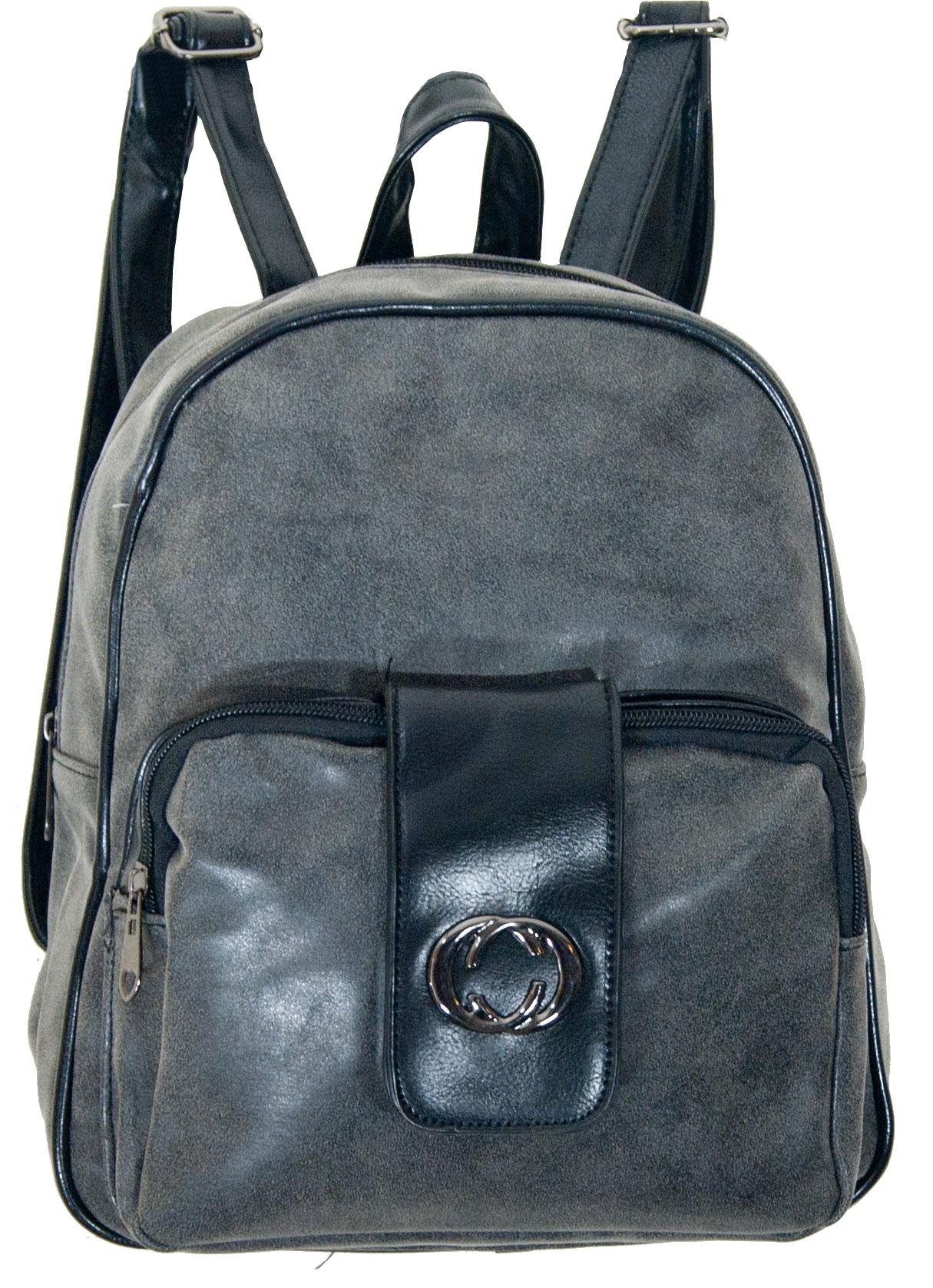 Backpack No 696 - Γκρι (Silvio 696)