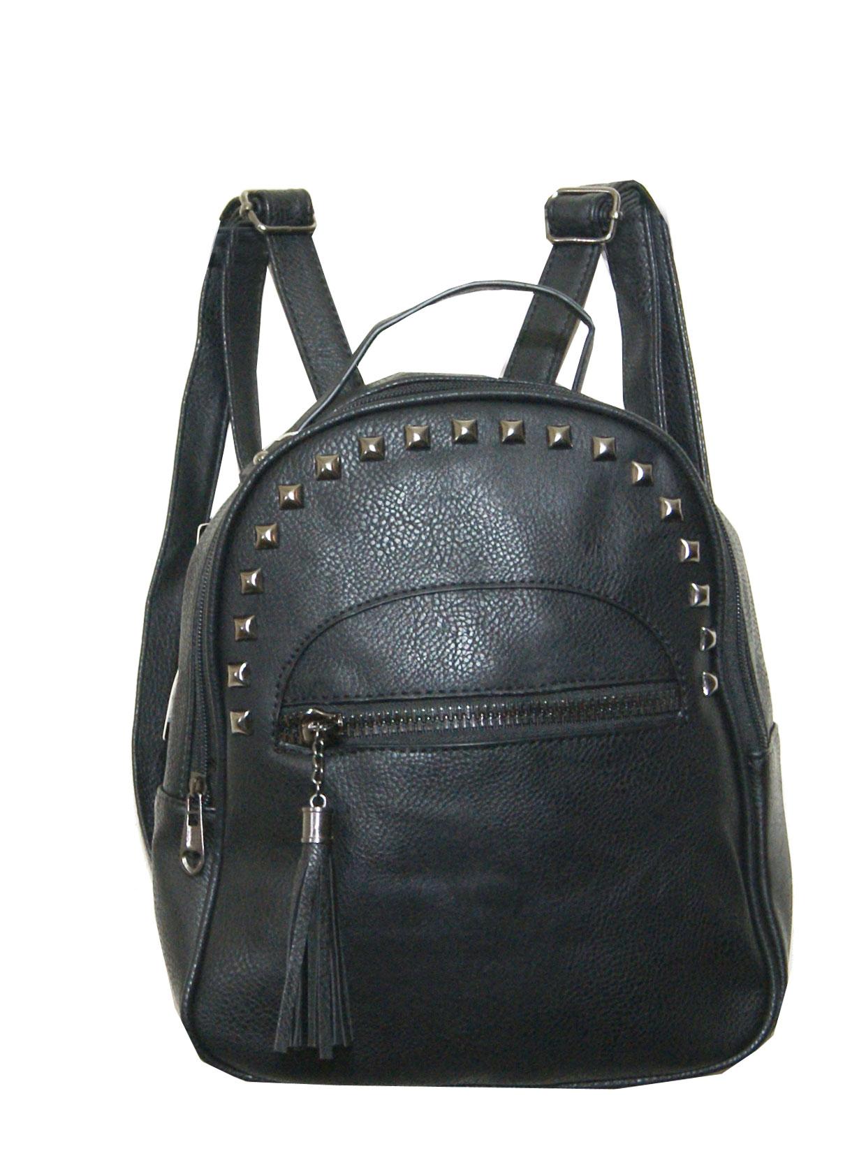 Backpack No 723 - Μαύρο (Sivio 723)