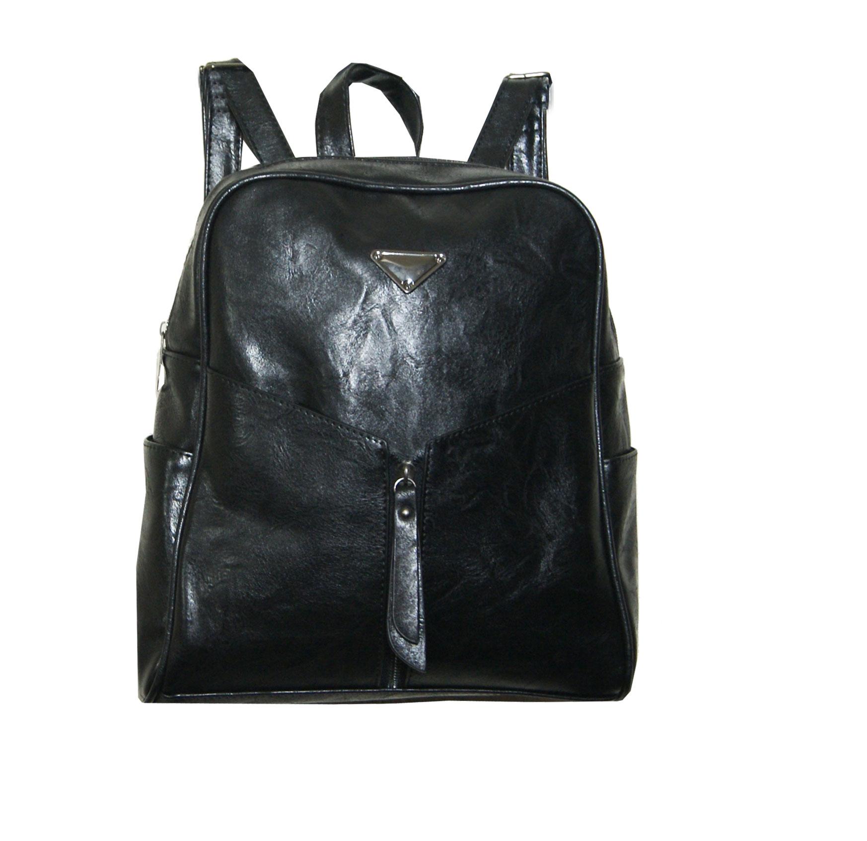 Backpack No 754 - Μαύρο (Silvio 754)
