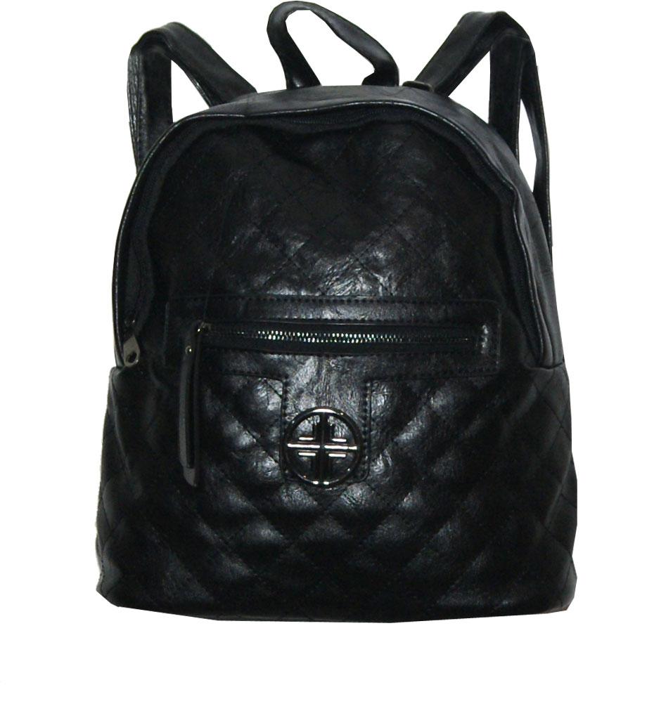 Backpack No 757 - Μαύρο (Silvio 757)