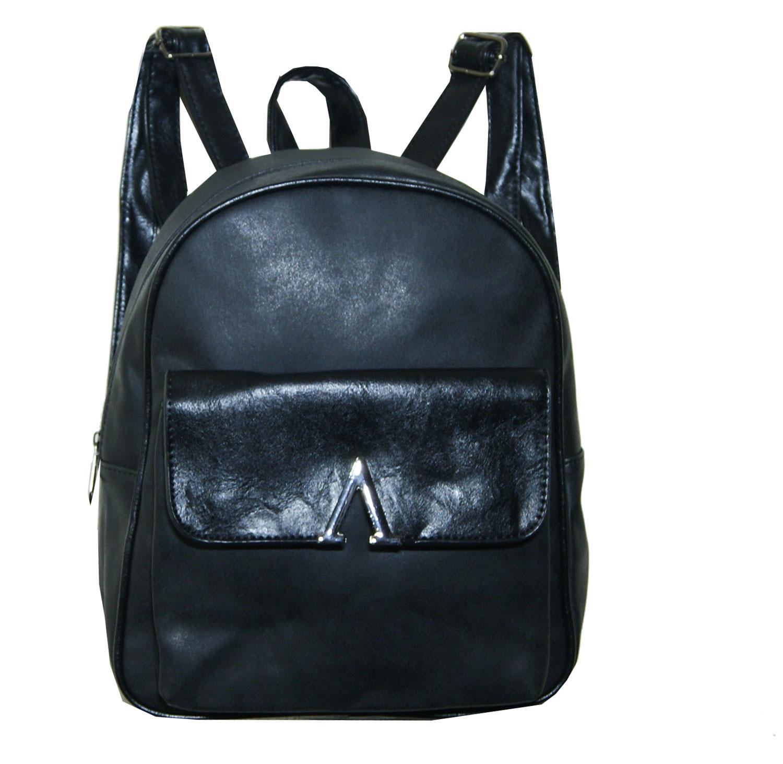 Backpack No 772 - Μαύρο (Silvio 772)
