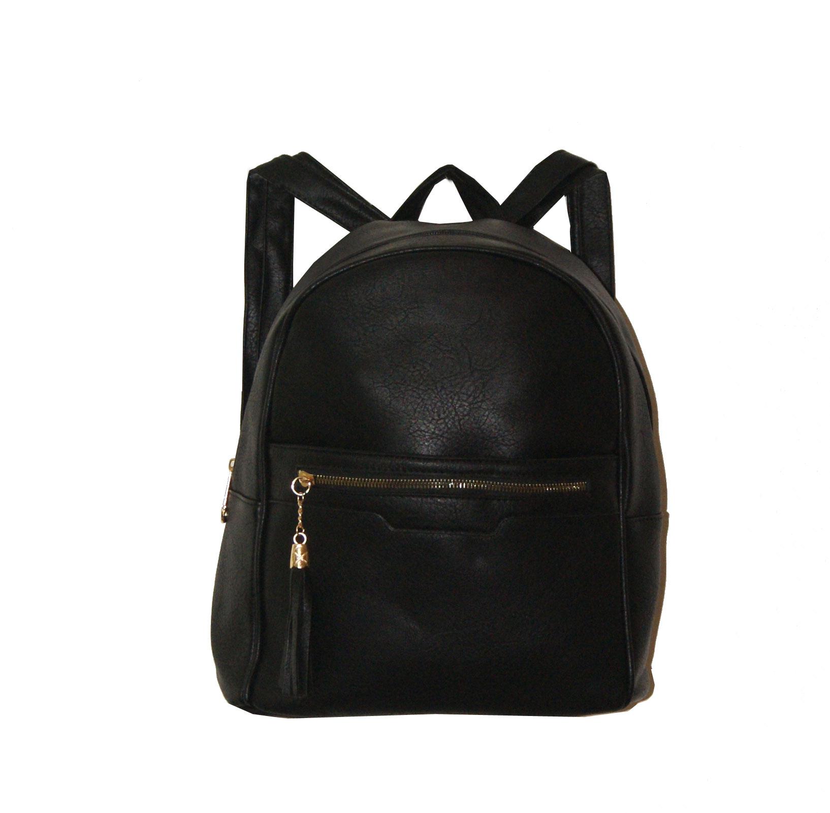 Backpack No 8010 - Μαύρο (Ashley 8010)